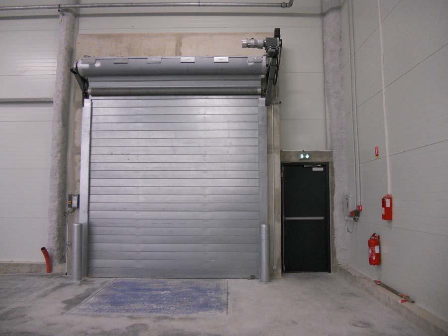 Portes Sectionnelles Rideau Métalique Porte Souples Battantes Ou