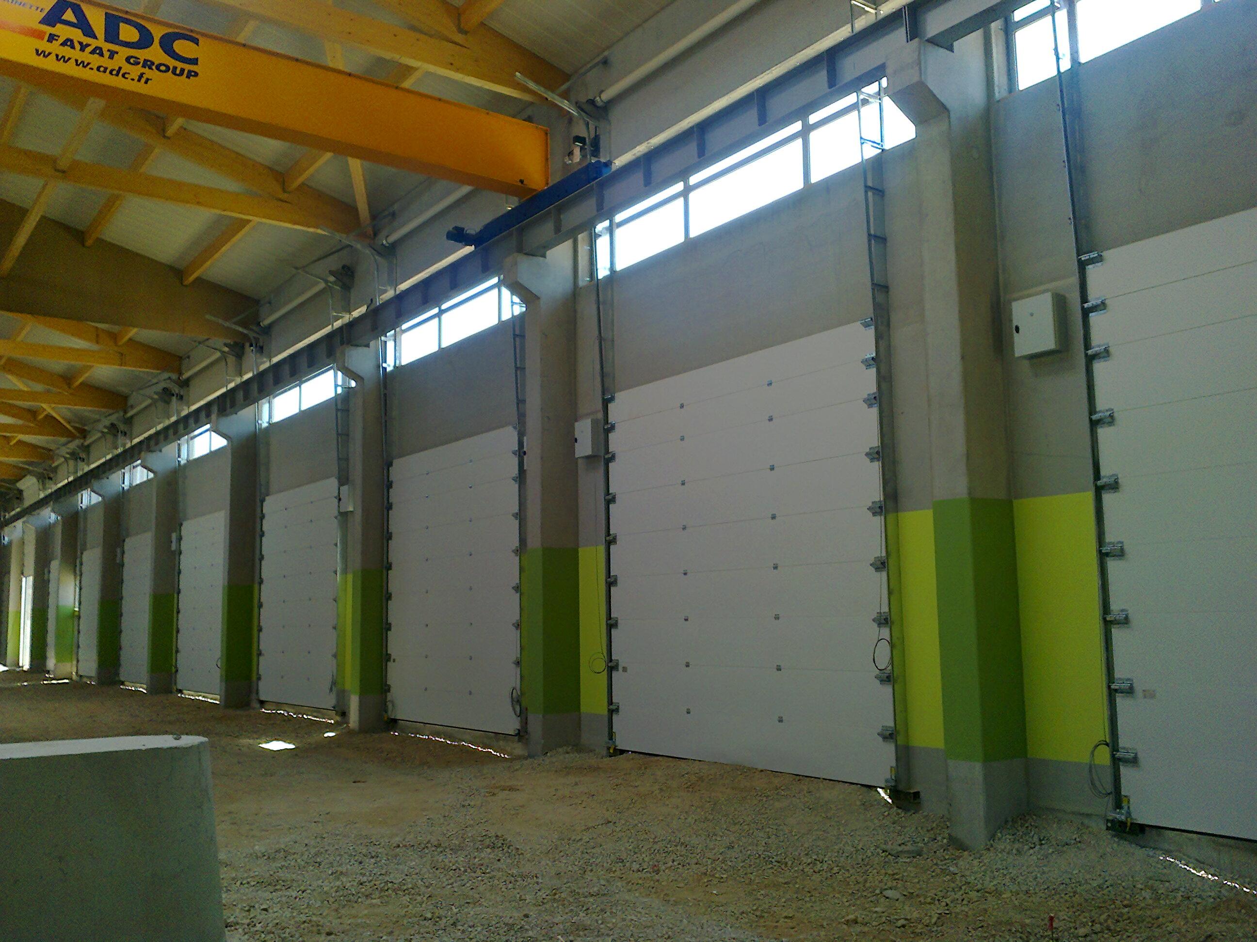 Portes sectionnelles, rideau métalique, porte souples, battantes ou ...